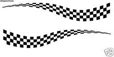 Racing Checkered Flag Tow Trailer Cargo Decals Haulmark Victory Graphics Car