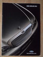 FORD FAIRLANE Ghia orig 1995 prestige glossy sales brochure - Australia