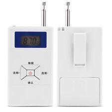Portatif Mini Émetteur FM sans fil Transmetteur 70MHz-108MHz Transmission 50m