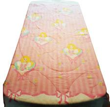 Barbie Twin Bed Comforter Sweet Dreams Ruffles Pink Stripes Vintage RARE 1991