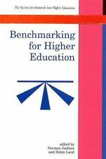 Benchmarking For Higher Education (Society for Research Into Higher Education)
