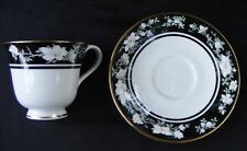 "Royal Doulton Intrigue England TC 1153 ""VOGUE"" 1984 Teacup Tea Cup & Saucer Set"
