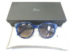 Christian Dior Authentic Sunglasses Tiedie 2 98M/EU Flower Blue Grey NEW! 29009