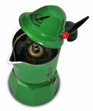 Bialetti   2762   Alpina   Espresso Maker for 3 Cups Aluminium Green