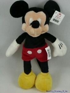 New Disney Store Mickey Mouse Clubhouse Mini Bean Bag Plush Toy Doll 10""