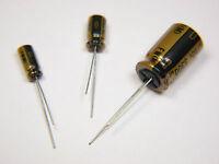 Nichicon FW Series Audio Grade Electrolytic Capacitors  100V (2 Pack)