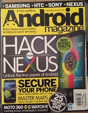 Android Magazine Hack Your Nexus Tablets Reviewed Apps #46 2015 FREE SHIPPING!