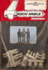 Reheat Models WWII German Luftwaffe Fighter Pilots (Set of 3) 1/48 Model Kit