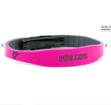 Authentic Pur life Negative Ion Bracelet EXCEL PINK & GRAY Purlife BALANCE