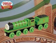 THOMAS & FRIENDS WOODEN RAILWAY~ HENRY ~ NEW IN BOX W/CHARACTER CARD - RARE HTF!