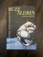 Buzz Aldrin ASTRONAUT Apollo 11 Signed Magnificent Desolation Book