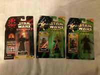 Star Wars Darth Maul Action Figures Lot of 3