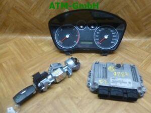 Tacho Zündschloss Schlüssel Motorsteuergerät Ford Focus 2 II Gelaufen 146.353 KM