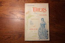 brochure touristique - AUVERGNE - THIERS et ses environs - ed. 1905