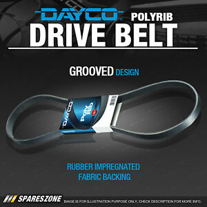 Dayco Drive Multirib Belt for Porsche Cayenne 4.5L 06/2003-03/2007