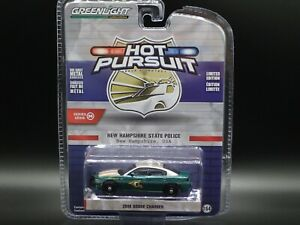 2020 GREENLIGHT 2018 DODGE CHARGER NEW HAMSHIRE STATE POLICE HOT PURSUIT 36
