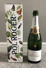 Empty Pol Roger Rèserve Brut Champagne Bottle & Box *Churchill Limited Edition*