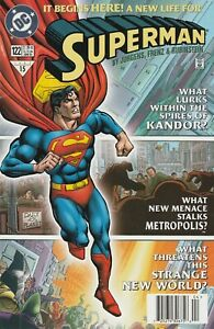 DC Comics Superman #122 A New Life