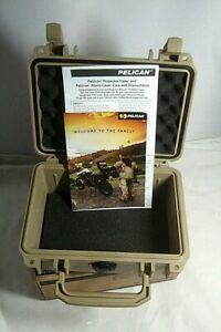 Pelican 1120 Case with Foam-Desert Tan