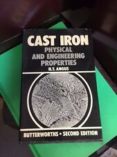 Cast Iron  by H.T. Angus Book- Hardcover with dust jacket - excellent - LOOK 91a
