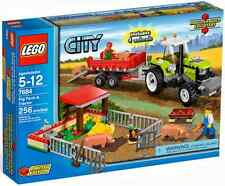 Brand New in sealed box - LEGO 7684 City Pig Farm & Tractor