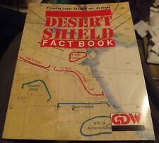 Vintage Desert Shield Fact Book by Frank A. Chadwick (1991, Paperback)
