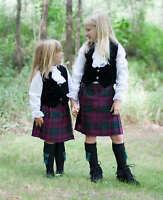 Poly Viscose Kid Kilts - Made in Scotland