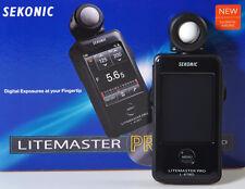 POSEMÈTRE & FLASMÈTRE LITEMASTER PRO SEKONIC L-478D !! NEUVE/NEW IN BOX