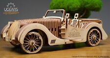 Ugears 70052 mechanical models 3d Roadster Sport Cabrio vm-01 437 PEZZI NUOVO