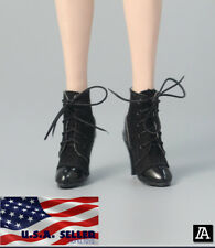 "1/6 Scale Ankle Boots A For 12"" TBLeague Hot Toys PHICEN Female Figure ❶USA❶"