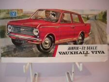 Airfix-Tête d'Instructions for early Vauxhal Viva PLASTIC MODEL KIT