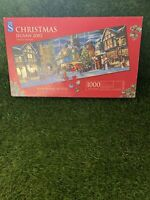 WH Smith Santa's Here Christmas 2002 - 1000 Piece Jigsaw Puzzle Limited Edition
