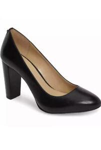 Women MK Michael Kors Susan Flex Pump Leather Black