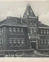 Postcard, RPPC, Separate School Vegerville Alberta Canada Vintage P25