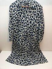 Metaphor Size 14 Leopard Print Dress