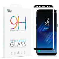 FOR SAMSUNG GALAXY S8 S9 S9+ Note 8 3D FULL CURVED TEMPER GLASS SCREEN PROTECTOR