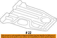 CHRYSLER OEM Front Suspension-Skid Plate 68217700AC