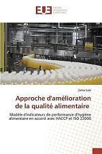 Approche d'Amelioration de la Qualite Alimentaire by Sabi Zahra (2015,...