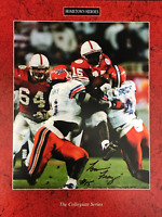 Tommie Frazier Autographed 8x10 Football Photo
