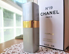 Vintage CHANEL No19 Pure Perfume / Parfum Spray 15ml - 1/2oz In Box Rare!