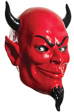 Brand New Red Devil Deluxe Scream Queens Adult Latex Mask