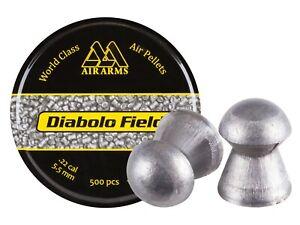 Air Arms Diablo Field Pellets, .22cal, 16 Grains, 500 Count