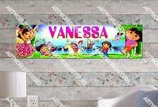 Personalized/Customized Dora #1 Name Poster Wall Art Decoration Banner