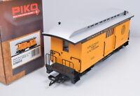 Piko 38603 US Wood Baggage Car 126 / Gepäckwagen der D&RGW / unbespielt / OVP