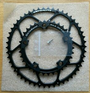 NEW Extralite Octaramp RC2 50-34T 110BCD Chainrings