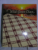 'WILD GOOSE CHASE QUILTS' PATTERN BOOKLET - ELEANOR BURNS QUILT IN A DAY