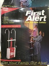 Brand New L👀K First Alert Window Fire Escape Ladder Two Story Safety