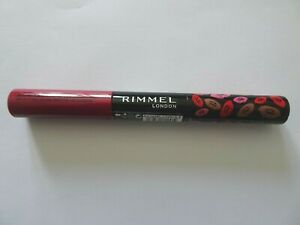 Rimmel Provocalips 16h Kiss Proof Lip Color NOT GUILTY RED Sealed Colour Gloss
