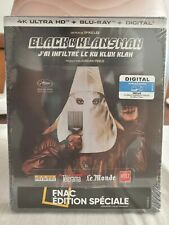 BlackKklansman International Steelbook (4K Blu-ray/Blu-ray)