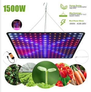 GROW LED 🌿  lampada led ultrasottile crescita piante coltivazione Indoor 1500W